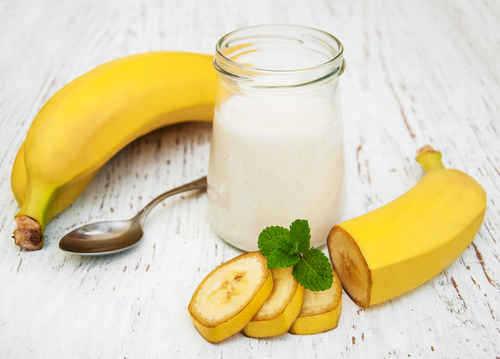 قناع الموز للشعر الجاف والدهني